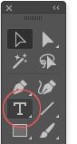 Инструмент Текст в Иллюстратор